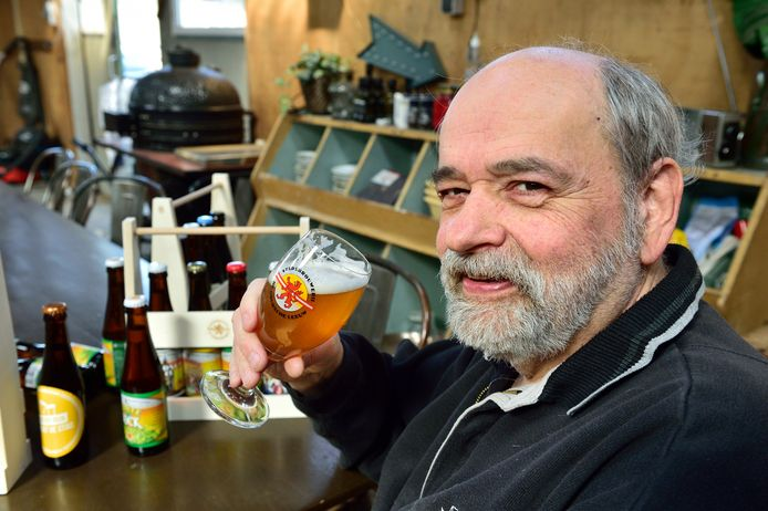 Theo Hesselink van bierbrouwerij De Goudsche Leeuw.