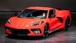 Primeur: bij nieuwe Corvette zit motor achter de stoelen