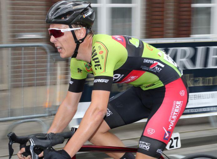 Jens Vanoverberghe hoopt dat hij op zondag 9 mei in en rond Stavelot de Ardense Pijl kan rijden.