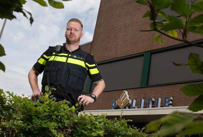 Robbert Hummelink keert terug in de Doetinchemse gemeenteraad. Hij werkt bij de politie in Winterswijk.