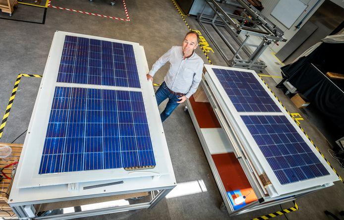 Gerard de Leede van Solarge zonnepanelen uit Eindhoven.