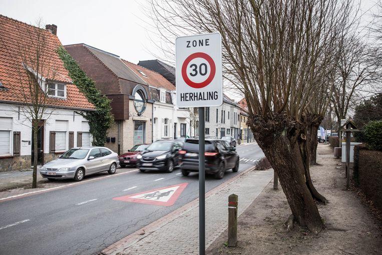In de eerste helft van vorig jaar werden elke dag 439 chauffeurs geflitst in een zone 30.