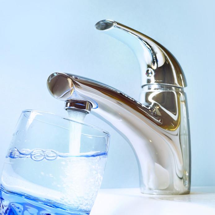Kraan water kraanwater glas