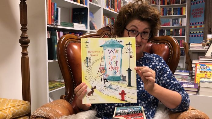 Annelies Harzing in De Kinderboekentuin