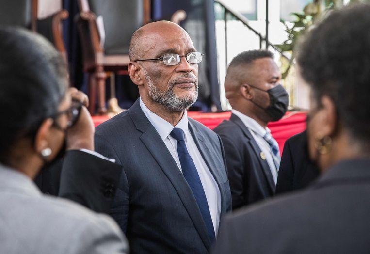 Premier Ariel Henry van Haïti. Beeld AFP