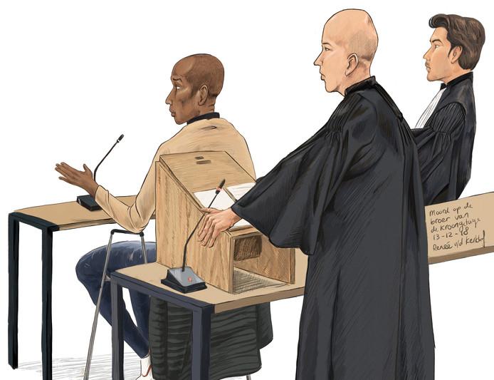 Het Openbaar Ministerie (OM) wil dat Hilversummer Shurandy S. een celstraf krijgt van 28 jaar wegens de moord op de broer van kroongetuige Nabil B. in Amsterdam-Noord. De verdachte gaf donderdag voor de rechtbank in Amsterdam opnieuw toe dat hij Reduan B. heeft doodgeschoten.