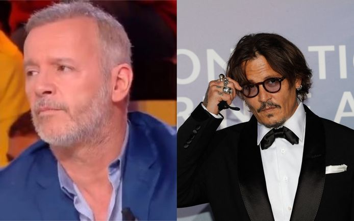 Jean-Michel Maire et Johnny Depp
