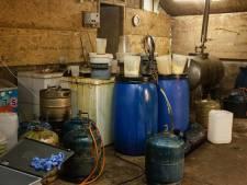Vijf verdachten aangehouden in onderzoek naar drugslab Beusichem
