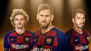 De geboorte van 'GSM': Griezmann, Suárez en Messi scoren voor het eerst allen in zelfde match