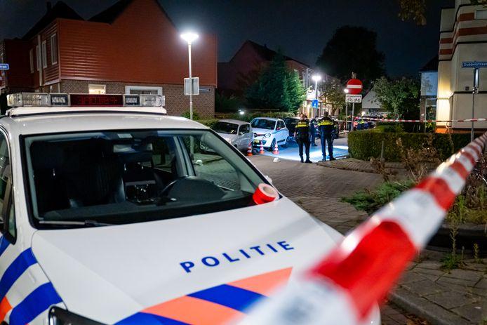 De politie deed uitgebreid sporenonderzoek naar de dodelijke schietpartij die de 20-jarige Roncherello het leven kostte.