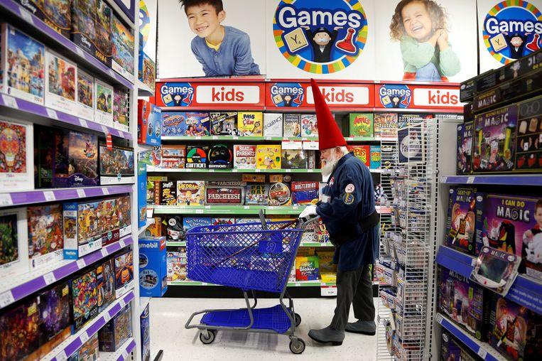 Een winkel van Toys R Us in de Amerikaanse staat Michigan. Beeld Reuters