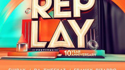 Replay Festival in Herentals stelt affiche voor