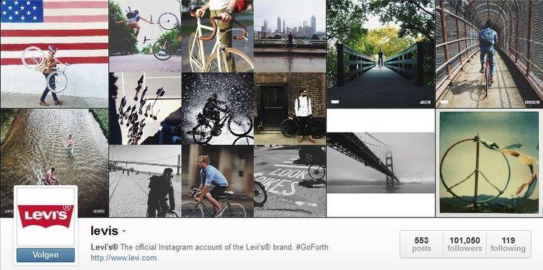 Levi Strauss op Instagram Beeld Levi Strauss