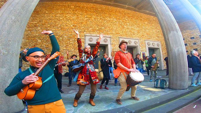 Danser Encore in Nijmegen, 17 april.