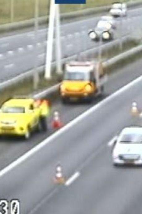 Extra reistijd voor automobilisten in regio Rotterdam door ongelukken