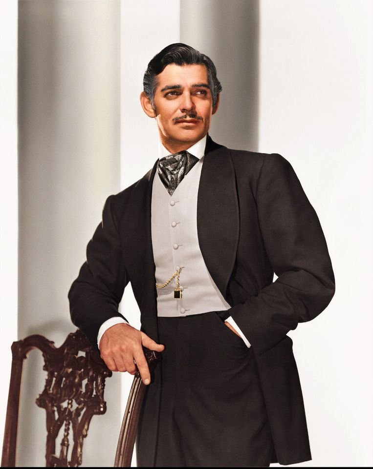 Clark Gable in Gone with the Wind: 'Frankly my dear, I don't give a damn'.  Beeld Photo News