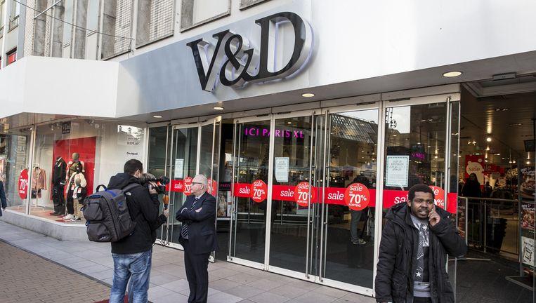 Een V&D-filiaal in Groningen Beeld anp