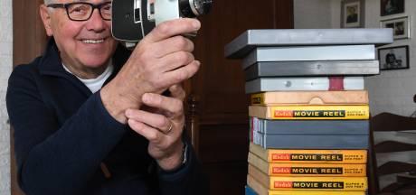 Theo kan eindelijk zijn oude super 8-films weer bekijken, dankzij een oproep: 'Ik ben er zó blij mee'