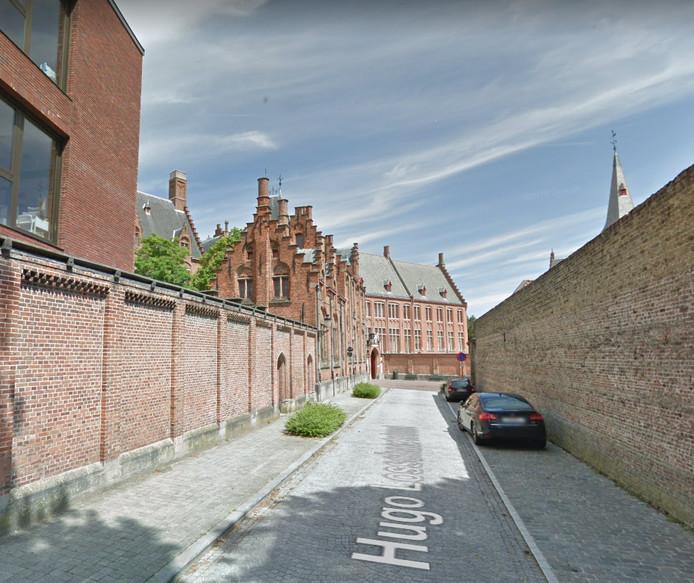 De Hugo Losschaertstraat.