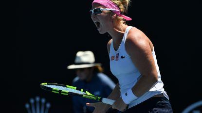 """Ysaline Bonaventure na onnodige nederlaag op Australian Open: """"Ik heb van mezelf verloren"""""""