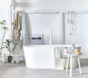 In alle rust badderen: zo tover je je badkamer om tot een luxueuze spa