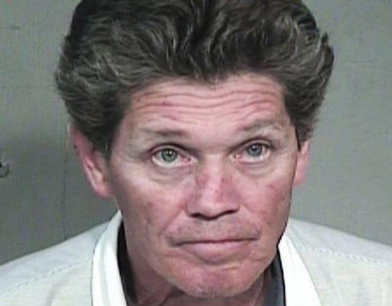 Gregory Rodvelt nadat hij in 2017 in Arizona werd opgepakt.