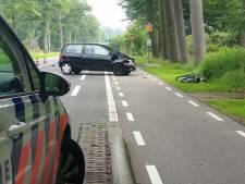 N733 tussen Enschede en Lonneker dicht na ongeluk tussen auto en stepfietsster