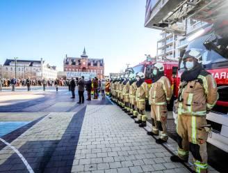 Veiligheidsdiensten en schepencollege houden indrukwekkend eerbetoon aan overleden burgemeester Leopold Lippens