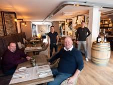 Mike en Hans beginnen restaurant in Ugchelen waar gast met tafel en stoel weer naar huis kan