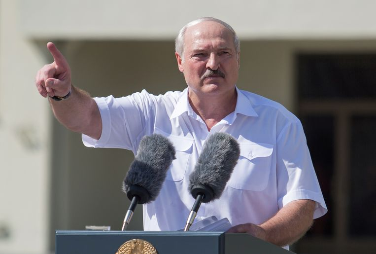 De Wit-Russische president Aleksandr Loekasjenko. Beeld Reuters