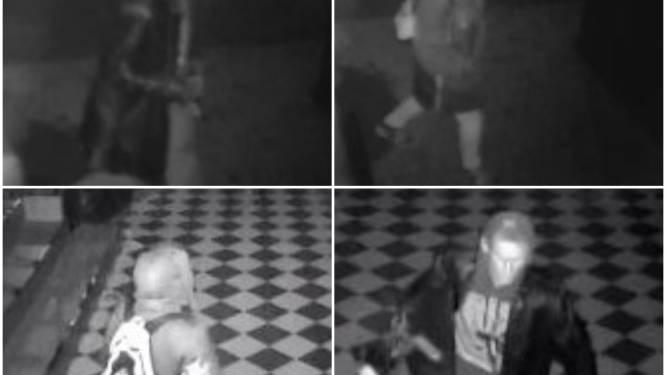 Wie herkent deze verdachten van inbraak in voormalige discotheek Highstreet ?