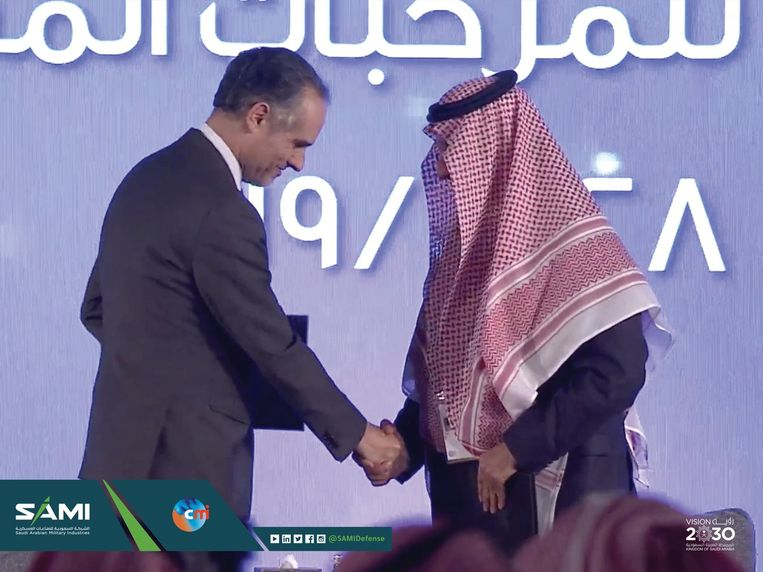 Thierry Renaudin, CEO van CMI, in Saudi-Arabië. Beeld RV