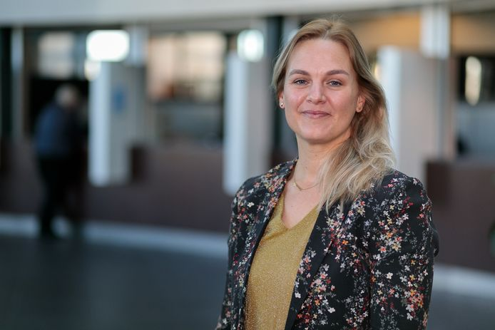 Wethouder Esther Prent van de gemeente Steenbergen.