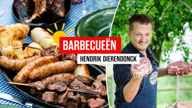 Hoe bak je vlees het best op je barbecue? Stel al je vragen aan Hendrik Dierendonck