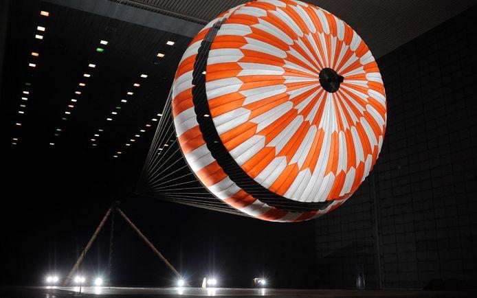 Teijin werkte aan de parachute van de Mars Perserverance Rover, die in februari succesvol landde op de rode planeet.