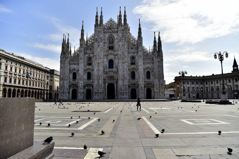 De dom van Milaan. Beeld BSRagency IPA / BACKGRID