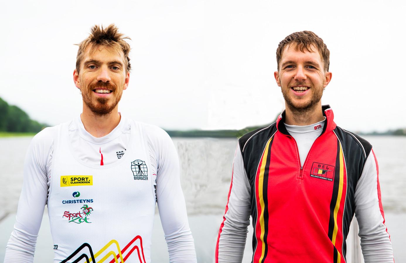 Tim Brys en Niels Van Zandweghe.