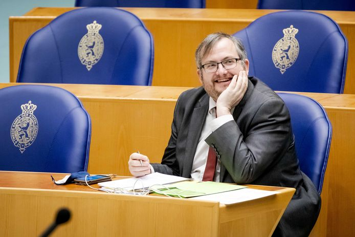 Frank Futselaar in de Tweede Kamer.