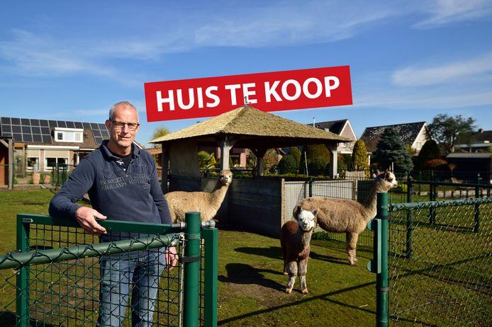 Teus Rozendaal verhuist naar een nieuwe woning met nog meer land.