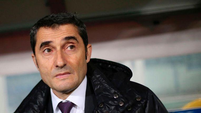 Ernesto Valverde. Beeld AFP