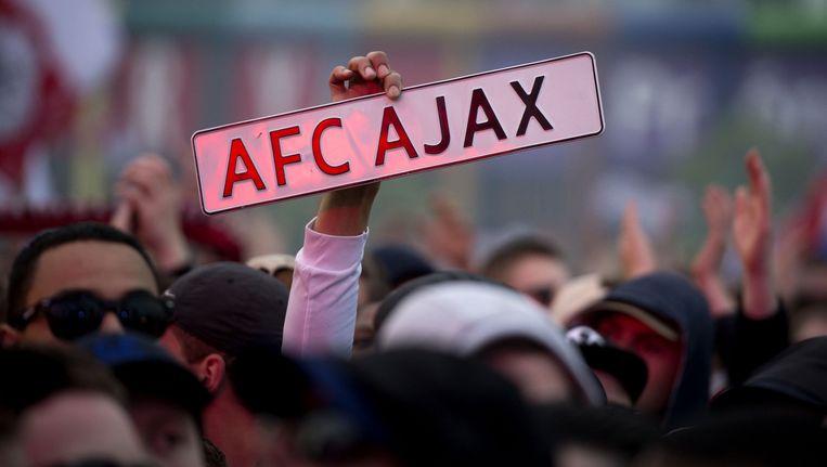 Is er komende zondag weer een huldiging in het Arenapark? Beeld ANP