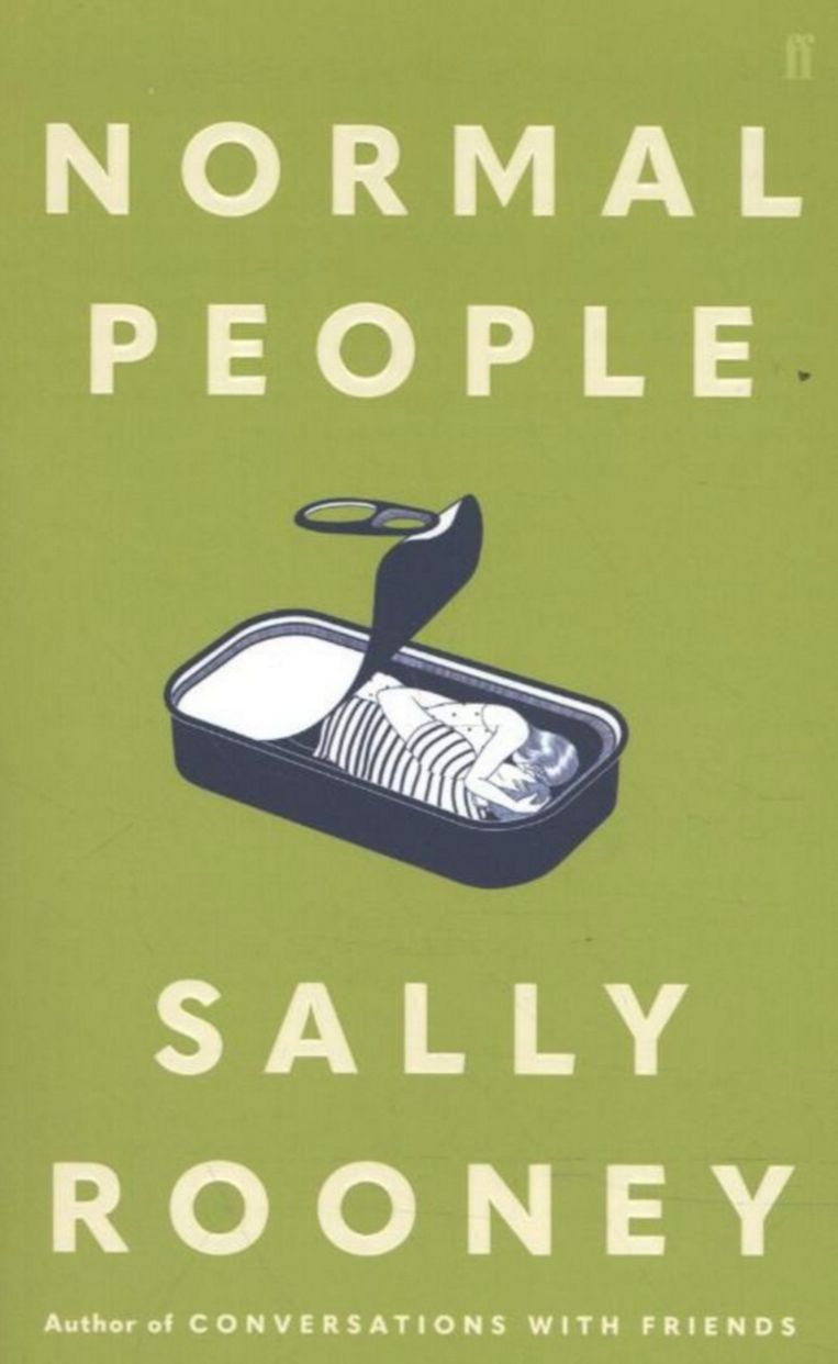 'Normal People' van Sally Rooney. Beeld RV