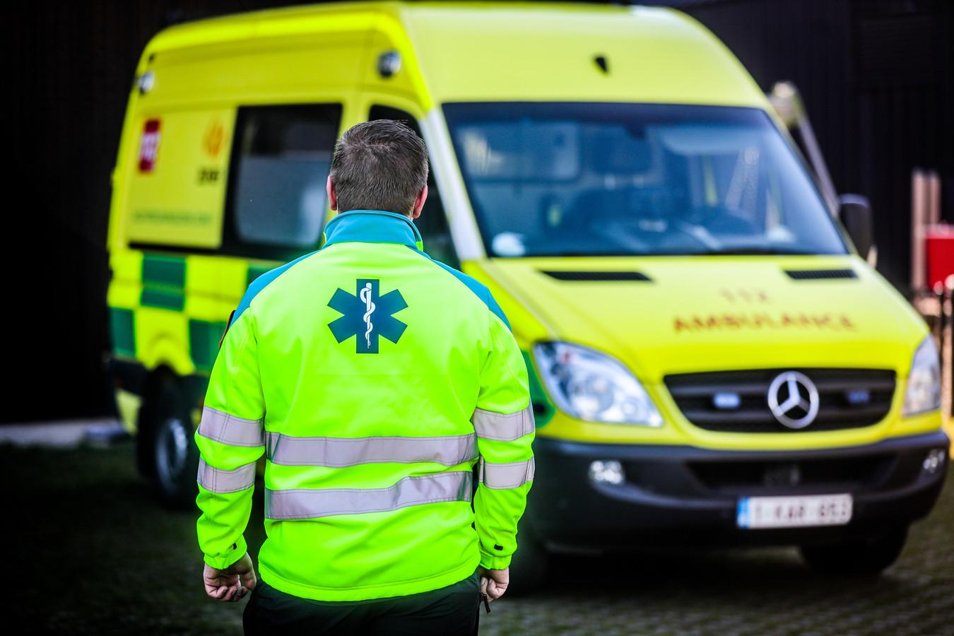 De ambulancier die rake klappen kreeg, getuige enkele dagen later aan onze krant.