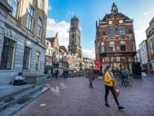 Klimaat-protestactie tegen pensioenfonds in Utrecht