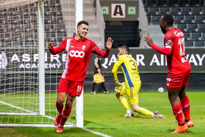 Selim Amallah-Jackson Muleka, le duo gagnant de la soirée pour le Standard.