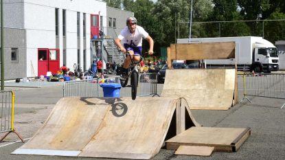 Tijdelijk skatepark niet geschikt voor skaters