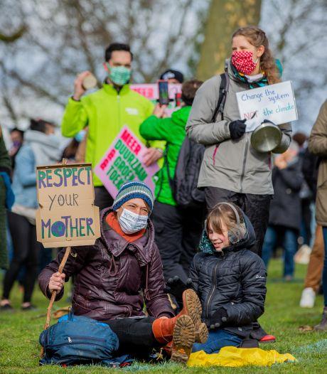 Klimaatprotest in Arnhem, Wageningen, Nijmegen en Aalten: gejoel om oproep om niet op GroenLinks te stemmen