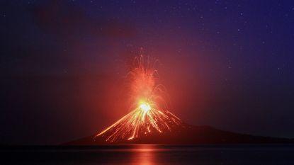 Voorganger vulkaan Anak Krakatau barstte in 1883 al uit: knal 5.000 kilometer ver te horen, schokgolf drie keer de wereld rond, 36.000 doden