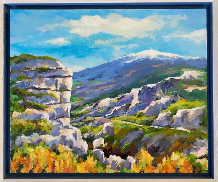 Gorges de la Nesque met Mont Ventoux