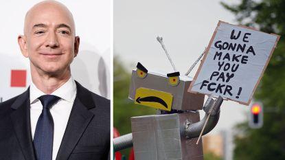 """Amazon-baas Jeff Bezos reageert op kritiek: """"Ik ben heel trots op onze arbeidsomstandigheden"""""""
